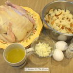 Roast Chicken With Homemade Stuffing