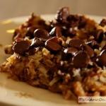 Easy Chocolate Chip Graham Bars