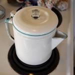 Enamelware Coffeepot