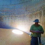 Emptying Out The Grain Bin
